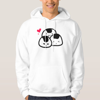 onigiri friends (as seen on sister site, artpop!) hooded sweatshirt