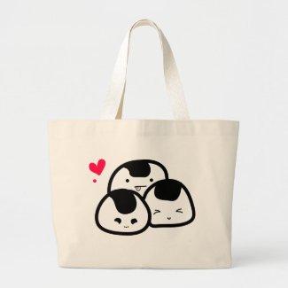 onigiri friends bag