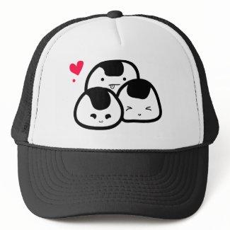onigiri friends hat