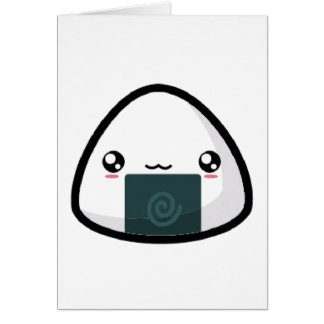 Onigiri Greeting Card