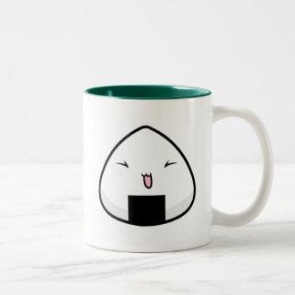 Onigiri Kun Two-Tone Coffee Mug