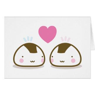 onigiri love card