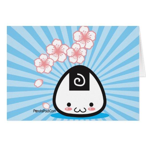 Onigiri Mei card