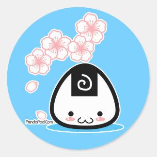 Onigiri Mei sticker sheet (more sizes)