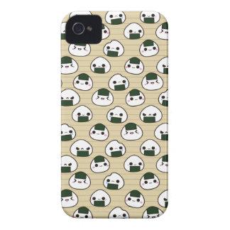 Onigiri Rice Balls iPhone 4 Cases