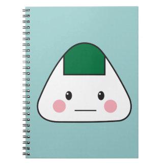 Onigiri Spiral Notebook