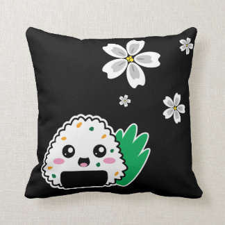 Onigiri y almohada blanca de Sakura