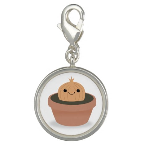 Onion Character Charm