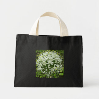 onion flower mini tote bag