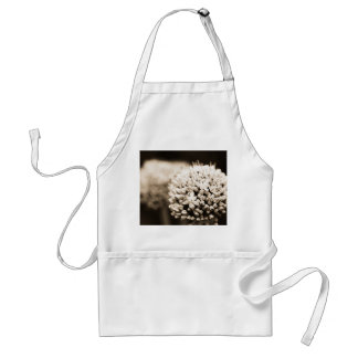 Onion flowers adult apron