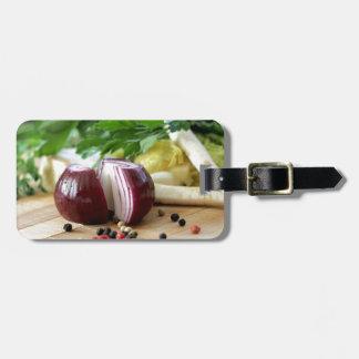 Onion Kitchen Luggage Tag