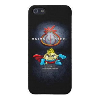 Onion of Steel iphone 5C case. iPhone 5 Carcasas
