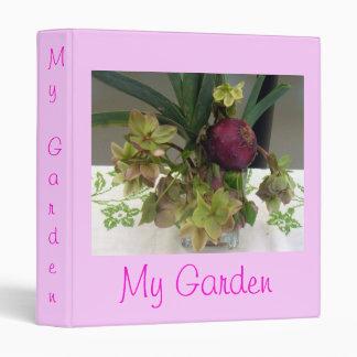 Onion Orchids Binder