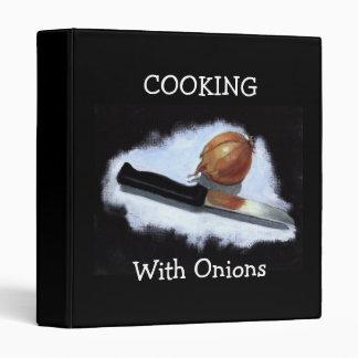 Onion: Pastel Art: Cooking Binder