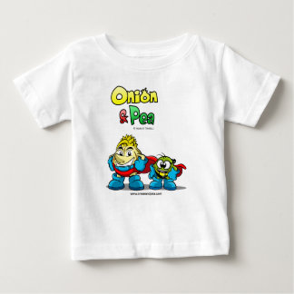 Onion & Pea characters Baby t-shirt. Baby T-Shirt