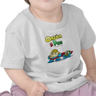 Onion & Pea characters Baby t-shirt.