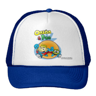 Onion & Pea cover 2 hat. Gorro De Camionero