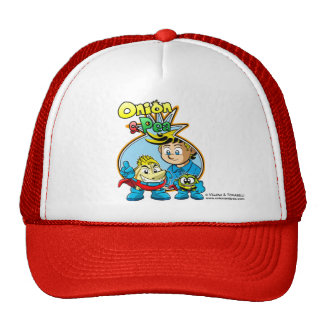 Onion & Pea cover hat. Gorras De Camionero