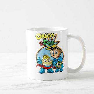 Onion & Pea covers mug. Coffee Mug