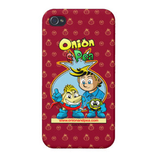 Onion & Pea iphone 4/4S network marries Cover For iPhone 4