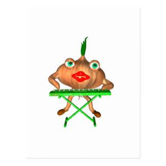 Onion Peels by Valxart- Postcard