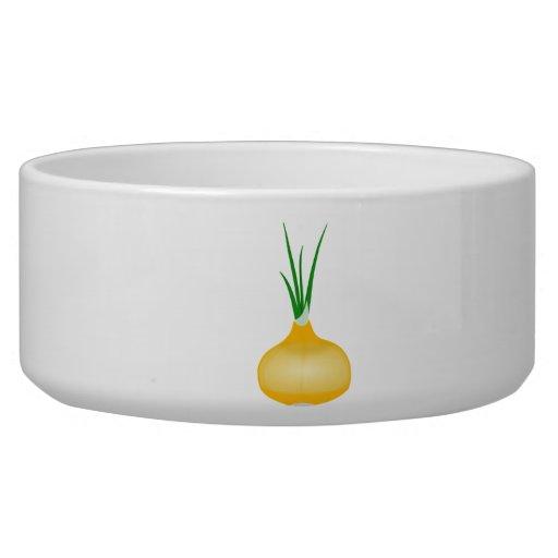 Onion Pet Bowl