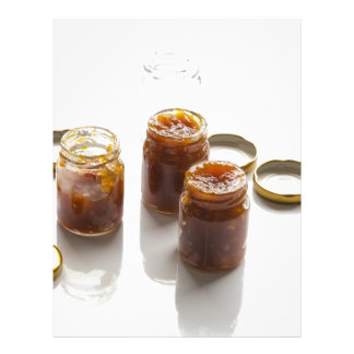 Onion pineapple chutney ingredients and preparatio letterhead