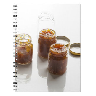 Onion pineapple chutney ingredients and preparatio notebook