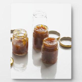Onion pineapple chutney ingredients and preparatio plaque