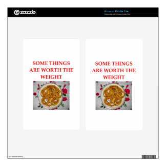 onion rings kindle fire decal