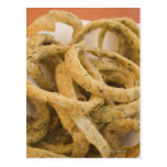 Onion rings postcards