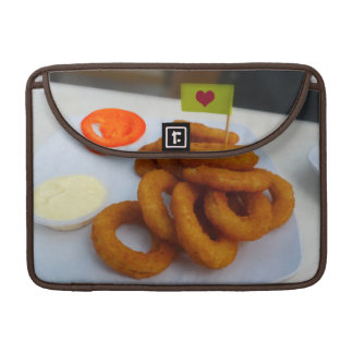 Onion Rings with Mayonnaise and Tomato MacBook Pro Sleeves