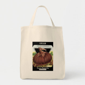 Onion Seed Packet Tote Bag