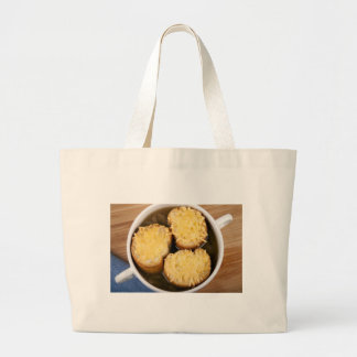 Onion Soup with Cheese Croutons Cloth Bag