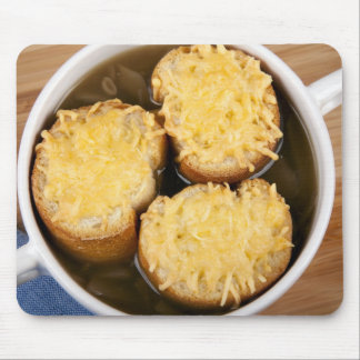 Onion Soup with Cheese Croutons Mousepad
