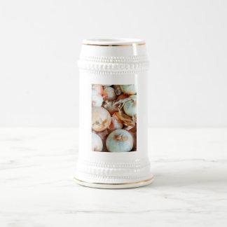 Onions Beer Stein