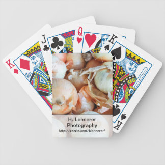 Onions Bicycle Playing Cards