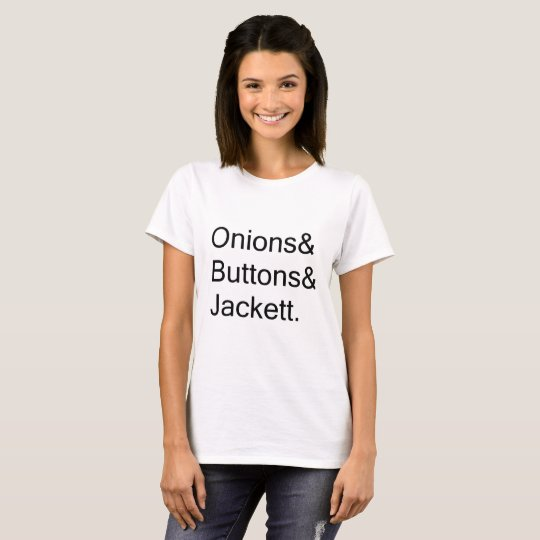 77eba2f34 Onions & Buttons & Jackett MFM My Favorite Murder T-Shirt | Zazzle.com
