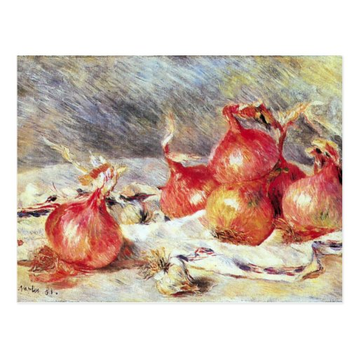 Onions by Pierre Renoir Post Card
