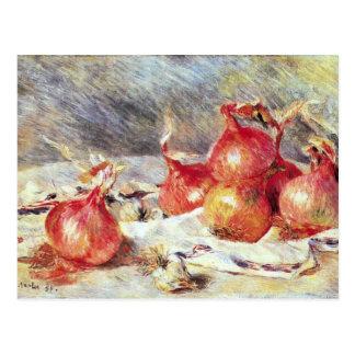 Onions by Pierre Renoir Postcard