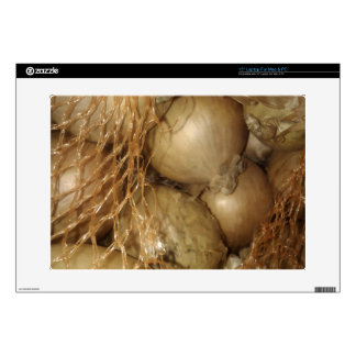 Onions In Net, Food Vegetables, Spicy Cooking Laptop Decal