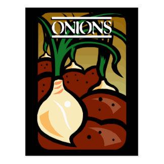 Onions Postcard