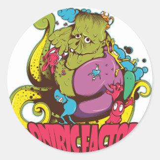Oniric Factor Merchandising Classic Round Sticker