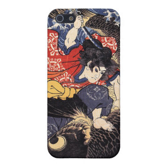 Oniwakamaru about to kill the giant carp iPhone 5 cover