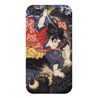 Oniwakamaru about to kill the giant carp iPhone 4/4S case