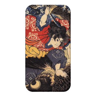 Oniwakamaru & the Giant Carp Cases For iPhone 4