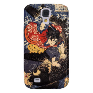 Oniwakamaru & the Giant Carp Samsung Galaxy S4 Cover