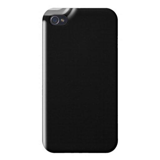 ónix brillante del iPhone iPhone 4 Carcasa