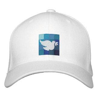 OnLife Prevention White Embroidered Baseball Cap