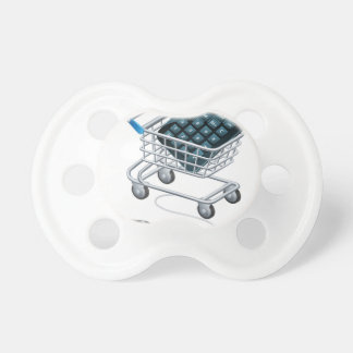 Online accounting concept pacifier
